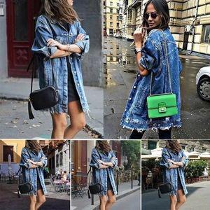 Jacket Long Sleeve Loose Street Style Outwear